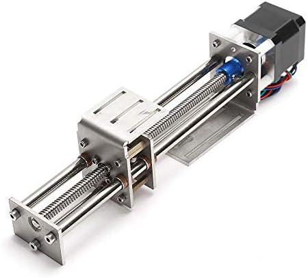 ChaRLes Machifit 150Mm Diapositiva De Trazo Cnc Z Axis Eje De Movimiento Lineal De Grabado De La Máquina Con Motor Stepper: Amazon.es: Bricolaje y herramientas