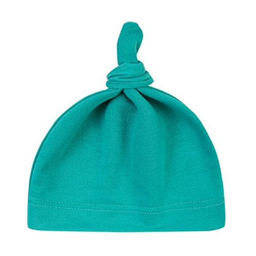 Hot Sale! Baby Beanie Cute Newborn Toddler Beanie Infant Boys Girls Cotton Knot Sleep Hats baby products (Length: 35cm/13.77, Green)