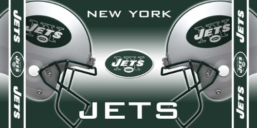 WinCraft NFL New York Jets Fiber Reactive Beach Towel