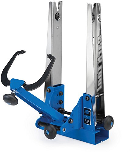 Park Tool Professional Wheel Truing Stand - TS-4 Blue/Silver, One Size Pro Wheel Truing Stand