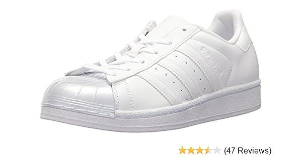 sale retailer 6faf4 b0e4f adidas Originals Women s Superstar Glossy Toe W Fashion Sneaker