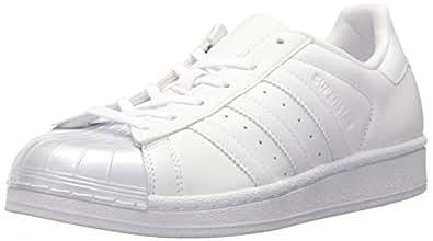 adidas Originals Womens Superstar Glossy Toe Fashion White Size: 7.5 US / 7.5 AU