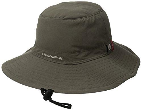 Craghoppers Men's Nosilife Outback Hat, Dark Khaki, Small/Medium