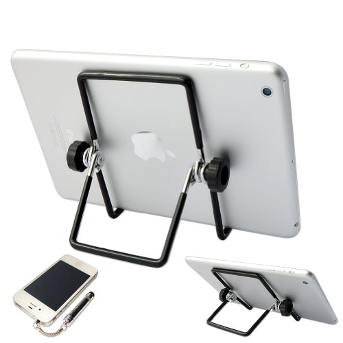 First2savvv Multi-angle Adjustable Portable Foldable Holder Stand for iPad Air 2 iPad mini 3 Samsung Galaxy Tab PRO 12.2 Galaxy NotePRO 12.2