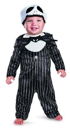 Disguise Inc Unisex Child Nightmare Before Christmas Jack Skellington Prestige Infants Costume Black/White 6 To 12 Months