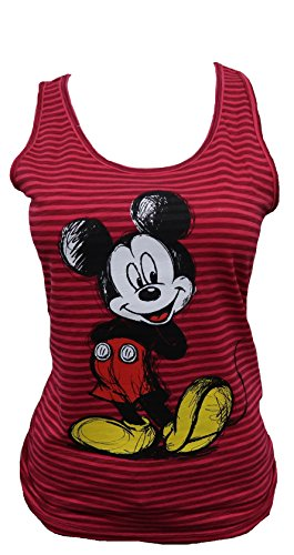 Disney-Mickey-Minnie-Womens-Juniors-Assorted-Tank-Top-Shirts