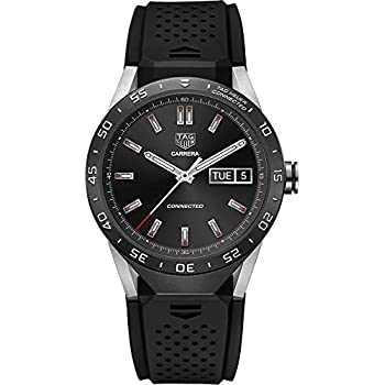 18674e9ef59 TAG Heuer CONNECTED Luxury Smart Watch (Compatible with Android iPhone)  (Black)