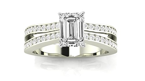 0.88 Ct Emerald Cut Diamond - 1