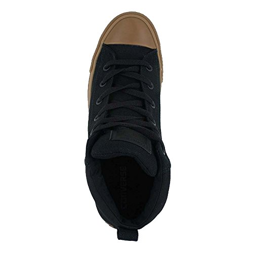 Conversar estrella Calle Chuck Taylor All zapatilla de deporte Black Dark Honey