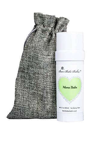 Moms Nipple Cream for Nursing, Soothing Calendula, Nipple Balm for Breastfeeding, No Mess Balm Stick, All Natural Moisturizing Nipple Repair Cream, Soothe Dry Skin, Repairs Nursing Nipples