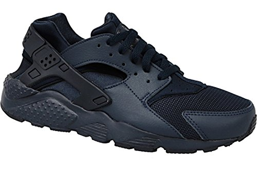 - NIKE Huarache Run GS Youth Casual Lifestyle Sneakers New Obsidian - 4