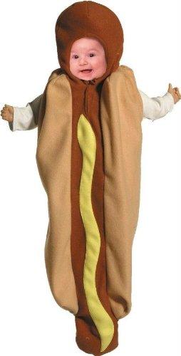 [Hot Dog Bunting Costume - Newborn] (Hot Dog Costume Women)