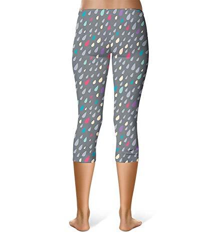 In Elasticizzati Colour Alla Sport Piumini Skinny Donna Stampati Ragazza Leggings Elastico Vita Caviglia Chic Sportivi Moda Pantaloni az1dqxw7w