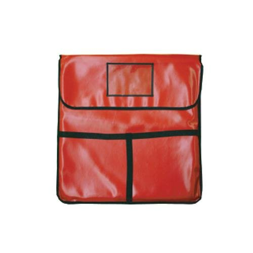 Thunder Group PLPB024 Pizza Delivery Bag, 24'' X 24'' X 5'', Insulated, Red