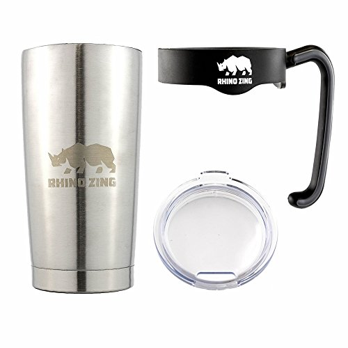 Travel Insulated Coffee Mug Stainless Steel Tumbler 20 Oz...