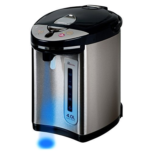 【驚きの価格が実現!】 Secura WK63-M2 Warmer Electric Water Boiler and Warmer 4-Quart w light,/ Night light, 18/10 Stainless Steel Interior WK63-M2 by Secura B01G5X60RC, 箱職人のアースダンボール:c4240255 --- arianechie.dominiotemporario.com