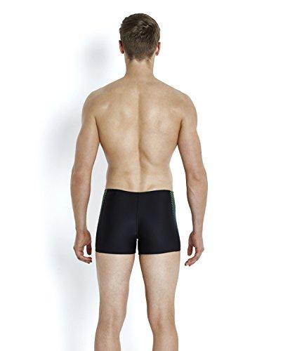 Speedo Colourblend Short de Bain Homme, Noir, FR : 32 (Taille Fabricant : 32)