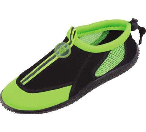 S2905 Mujeres 4 Colores Zapatos De Agua Aqua Socks Slip En Piscina Atlética Beach Surf Yoga Dance Ejercicio Verde