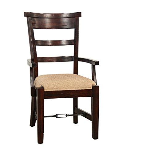 Sunny Designs 1605RM Vineyard Arm Chair, Rustic Mahogany Finish (Rustic Mahogany)