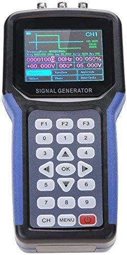Invtek 30MHz信号発生器 JDS2062Aハンドヘルド30MHz 2チャンネルデジタル信号発生器周波数計S4R2 AC110-220V
