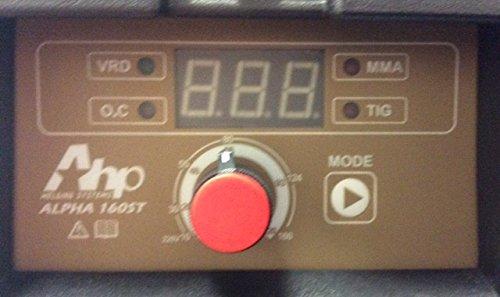 2016 AHP Alpha-160ST 160 Amp Arc / Stick Welder Dual Voltage 110v / 220v by AHP (Image #1)