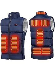 Verwarmd vest USB opladen Elektrische bodywarmer voor heren Dames 3 verwarmingsniveaus Lichtgewicht verwarmde jas voor buitensporten