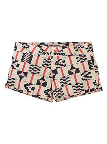 Burton Women's Shearwater Boardshort Short, Burnt Sienna Brick Stripe, Size 30 ()