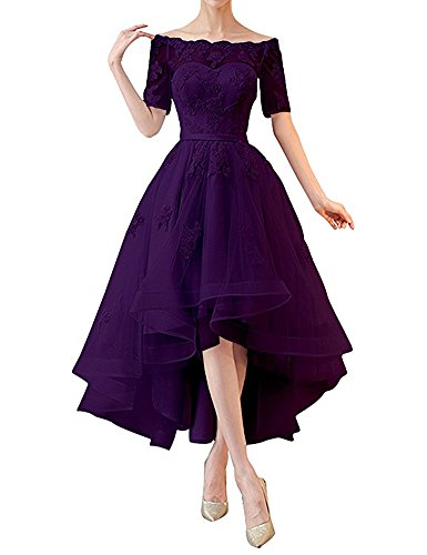 Leader of the Beauty Damen A-Linie Kleid Grape