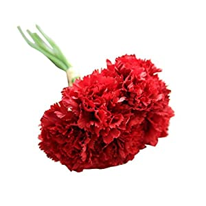 YJYdada Artificial Fake Flowers Carnations Floral Wedding Bouquet Bridal Hydrangea Decor 71