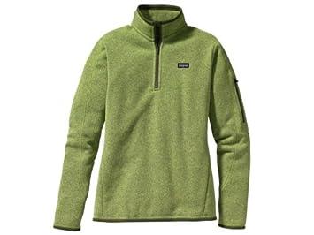 Patagonia W's Better Sweater Jacket Jacke Gruen Damen
