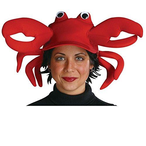 [Rasta Imposta Crab Cap, Red, One Size] (Crab Costumes)