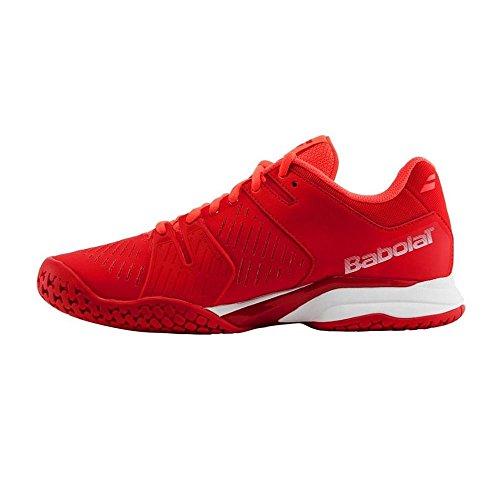 Babolat Propulse Team Ac, Zapatillas de Tenis para Hombre Rojo (Red)