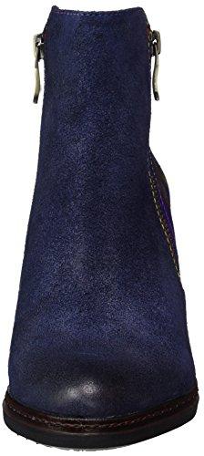 Laura Vita Damen Angela 14 Stiefel Blau (Bleu)