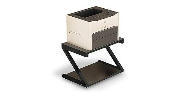 Soporte de madera para impresora elevador de pantalla, soporte de ...