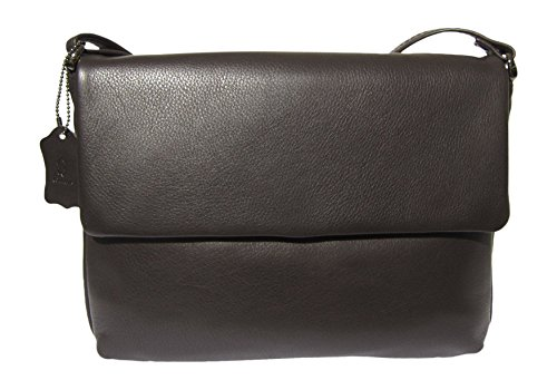 Josephine Osthoff Handtaschen-manufaktur - Cross Leather Bag For Women Espresso Brown One Size