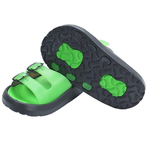 ae2bac492 Yiomxhi Toddler Little Kids Walking Slippers Summer Sandals Shower Shoes  Beach Slippers (Little Kids 10