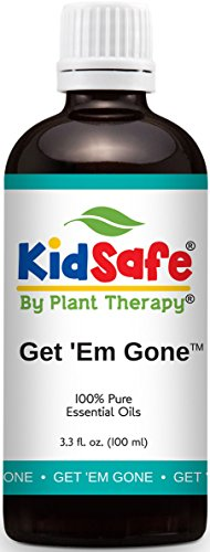 Plant Therapy KidSafe Get 'Em Gone Synergy Essential Oil 100 ml (3.3 oz) 100% Pure, Undiluted, Therapeutic Grade