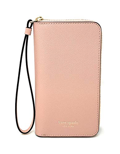Kate Spade New York Cameron Zip Leather Wristlet for iPhone Xs & iPhone X, - Cameron Leather