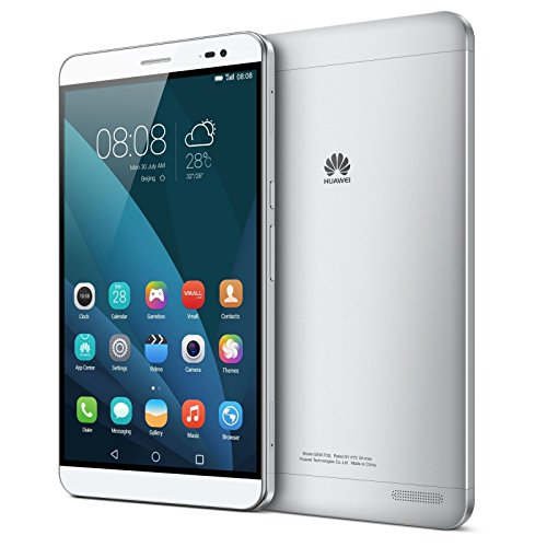 Unlocked Huawei Honor X2 16GB 7.0 inch TFT LTPS Capacitive Screen Android OS 5.0 Phablet Smart Phone, Hisilicon Kirin 930 Octa Core 2.0GHz, RAM: 3GB,GSM & WCDMA Silver (Standard)