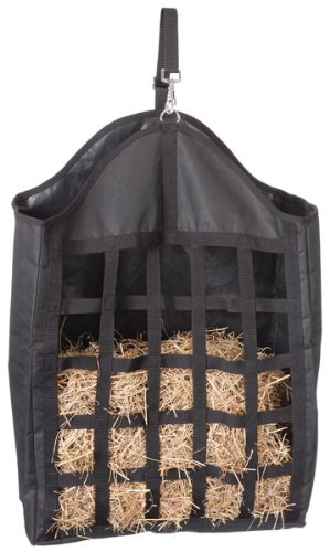 Purple Tough-1 Nylon Hay Tote with Net Front
