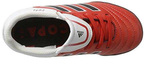 adidas Jungen Copa 17.4 Tf Fußballschuhe Rot (Red/Ftwr White/Core Black)