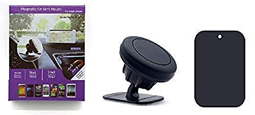 Instant Latch Magnetic Cell Phone Holder Mount for All Mobile Phones Including iPhone