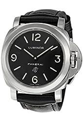 Panerai Luminor Base Logo Men's Hand Wound Watch - PAM00000
