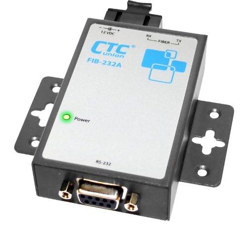 FIB-232A-SC030 - RS-232 over single-mode fiber media converter, SC connector, 30Km range