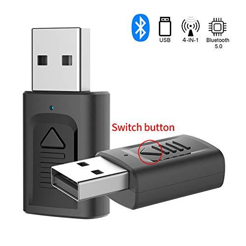 🥇 GeekerChip Adaptador Bluetooth USB 5.0