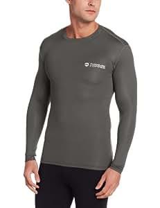 Tommie Copper Men's Long Sleeve Shirt, Slate Grey, Small