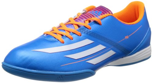 Adidas F10 In Solblu / runwht / solzes Indoor Soccer Shoe 8.5 Us Blau