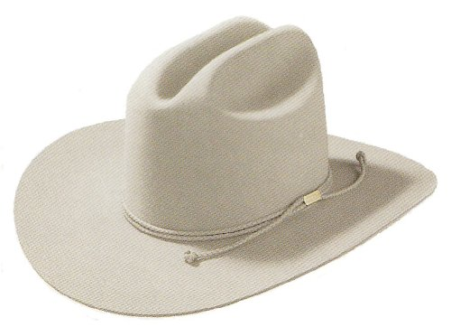 "Stetson 0462 Carson hat color Silver Belly, TV show ""Justified"" Raylan Givens hat (7 1/2)"