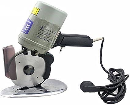 CGOLDENWALL YJ-125A Cortador de Tela Eléctrico Octogonal Máquina de Corte de Tela Tijera Eléctrica para Gamuza Textil Papel Con Dispositivo de Afilado & Cuchilla de Diámetro 125mm220V
