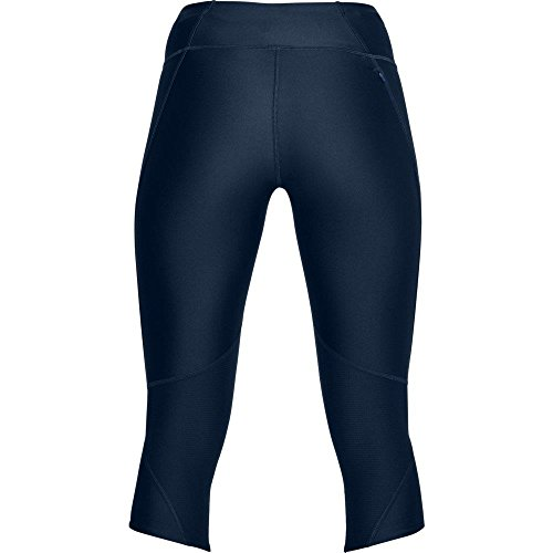 Under Armour Women's Armour Fly Fast Capris, Academy /Reflective, X-Small by Under Armour (Image #3)
